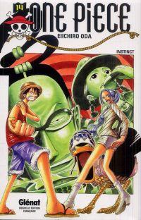 One Piece T14 : Instinct (0), manga chez Glénat de Oda