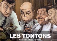 Les Tontons : Eparpillés façon puzzle, bd chez Glénat de Chanoinat, Da Costa