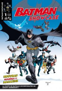 Batman Showcase T1, comics chez Urban Comics de Morrison, Clark, Burnham, Paquette, Fairbairn