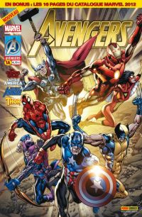 The Avengers (revue) – V 2, T1 : Rassemblement (0), comics chez Panini Comics de Heinberg, Brubaker, Fraction, Cheung, Coipel, McNiven, Steigerwald, Martin, Ponsor, Charest, Hitch