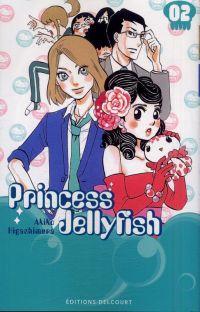 Princess jellyfish T2, manga chez Delcourt de Higashimura