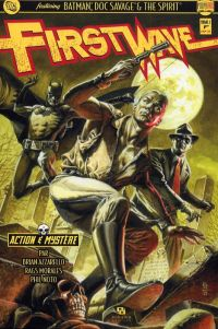 First Wave – Crossover, T1, comics chez Ankama de Azzarello, Morales, Noto, Ruffino, Jones