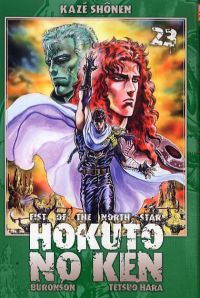 Hokuto no Ken – Edition Simple, T23, manga chez Kazé manga de Hara, Buronson