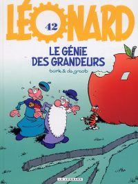 Léonard T42 : Le génie des grandeurs (0), bd chez Le Lombard de de Groot, Turk, Kael