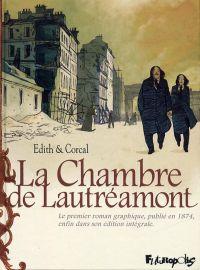 La Chambre de Lautréamont, bd chez Futuropolis de Corcal, Edith