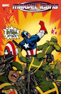 Marvel Icons - Hors série T2 : Captain America : Super patriote (0), comics chez Panini Comics de Kirkman, Eaton, Schwager, Johnson