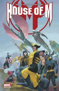 House of M : , comics chez Panini Comics de Bendis, Coipel, d' Armata, Ribic