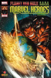 Marvel Heroes Extra T9 : La planète rouge - Planet Red Hulk (0), comics chez Panini Comics de Parker, Hardman, Pagulayan, Aburtov, Breitweiser