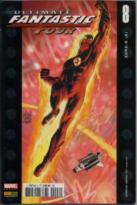 Ultimate Fantastic Four T8 : Zone-N (2/3) (0), comics chez Panini Comics de Ellis, Kubert, Stewart