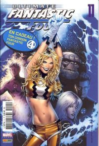 Ultimate Fantastic Four T11 : Inhumain (0), comics chez Panini Comics de Millar, Lee, Chung, Land