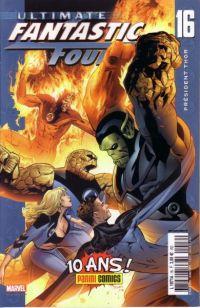 Ultimate Fantastic Four T16 : Président Thor (0), comics chez Panini Comics de Millar, Land, Ponsor