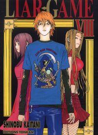 Liar game T8, manga chez Tonkam de Kaitani
