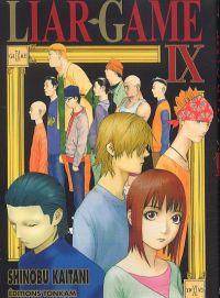 Liar game T9, manga chez Tonkam de Kaitani