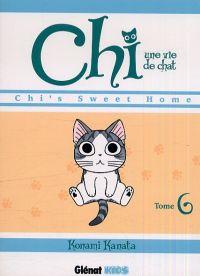 Chi - une vie de chat T6, manga chez Glénat de Konami