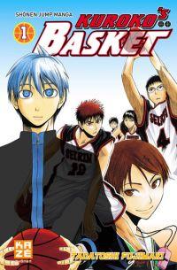 Kuroko's basket T1, manga chez Kazé manga de  Fujimaki