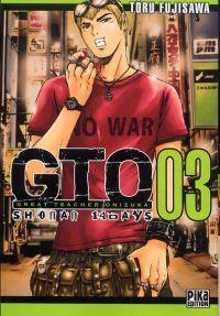 GTO - Shonan 14 days T3, manga chez Pika de Fujisawa