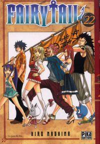 Fairy Tail T22, manga chez Pika de Mashima