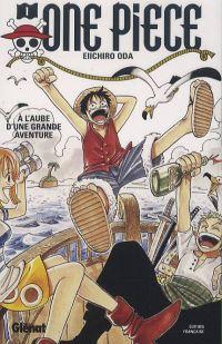 One Piece T1 : A l'aube d'une grande aventure (0), manga chez Glénat de Oda