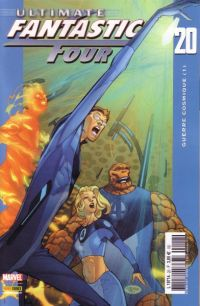 Ultimate Fantastic Four T20 : Guerre cosmique (1/3) (0), comics chez Panini Comics de Carey, Ferry, Ponsor, McCaig