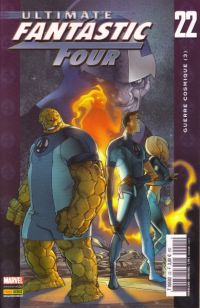 Ultimate Fantastic Four T22 : Guerre cosmique (3/3) (0), comics chez Panini Comics de Carey, Ferry, Ponsor