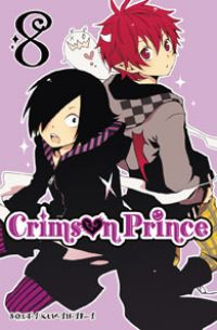 Crimson prince T8, manga chez Ki-oon de Kuwahara