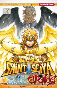 Saint Seiya - The lost canvas chronicles  T10, manga chez Kurokawa de Teshirogi, Kurumada