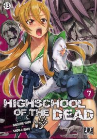 Highschool of the dead T7, manga chez Pika de Sato, Sato