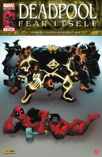 Deadpool (revue) – V 2, T9 : Fear Itself (1/2) (0), comics chez Panini Comics de Hastings, Way, Medina, Dazo, Gracia, Milla, Stegman