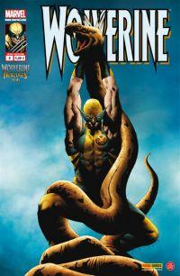 Wolverine (revue) – Revue V 2, T8 : Mythes, monstres et mutants (1/4) (0), comics chez Panini Comics de Tieri, Aaron, Santacruz, Guedes, Wilson, Baumann, Lee
