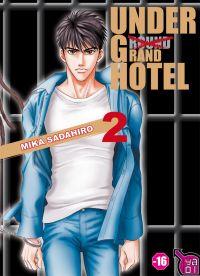 Under grand (ground) hotel T2, manga chez Taïfu comics de Sadahiro
