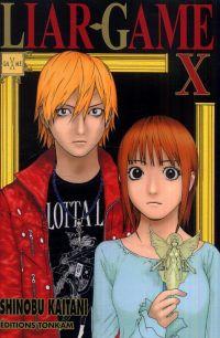 Liar game T10, manga chez Tonkam de Kaitani