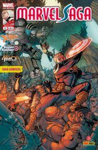 Marvel Saga – V 1, T13 : L'évasion de la zone négative (0), comics chez Panini Comics de Asmus, Bradshaw, Roberson, Fiumara, Charalampidis