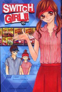 Switch girl  T15, manga chez Delcourt de Aida