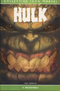Hulk – 100% Marvel, T4 : Abominable (0), comics chez Panini Comics de Jones, Deodato Jr, Studio F, Andrews