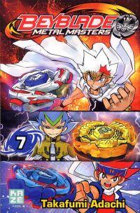 Beyblade T7, manga chez Kazé manga de Adachi