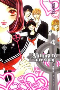 Akuma to love song T4, manga chez Kana de Tomori