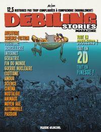Debiling stories, bd chez Fluide Glacial de Mo/CDM