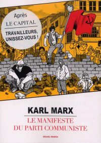 Le Manifeste du parti communiste, manga chez Soleil de Marx, Variety artworks studio