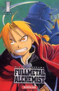 Fullmetal Alchemist - edition double T1, manga chez Kurokawa de Arakawa