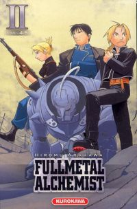 Fullmetal Alchemist - edition double T2, manga chez Kurokawa de Arakawa