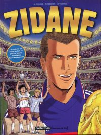 Zidane, bd chez Casterman de Nolent, Venanzi, Pierret, Crahay, Ditsh, Pierret, Hurion