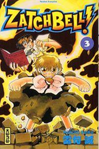 Zatch Bell T3, manga chez Kana de Raiku