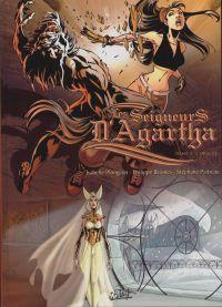 Seigneurs d'Agartha T2 : L'oracle, bd chez Soleil de Plongeon, Briones, Paitreau