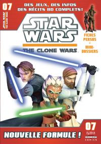 Star Wars (revue) – The clone wars, T7, comics chez Delcourt de Etherington, Hoskin, Sniley, Ponce, Digikore studio
