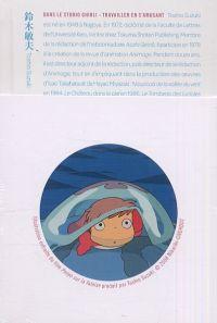 Dans le studio Ghibli : s'amuser en travaillant : , manga chez Kana de Suzuki