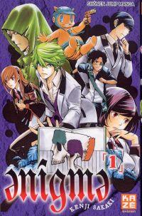 Enigma T1 : , manga chez Kazé manga de Sakaki