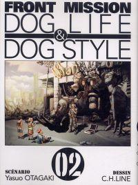 Front Mission - Dog Life and Dog Style T2, manga chez Ki-oon de Otagaki, C.H.LINE