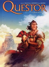 Questor – cycle 1, T2 : L'affaire Atlante (0), bd chez Soleil de Sala, Saviori, Bassini