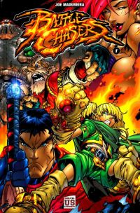 Battle Chasers T1, comics chez Soleil de Sharrief, Madureira, Lichtner, Lusen, Liquid!