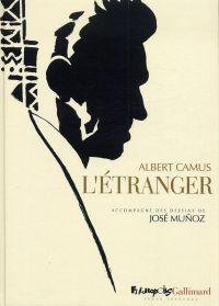 L'Etranger, bd chez Futuropolis de Camus, Muñoz